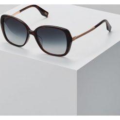 Marc Jacobs Okulary przeciwsłoneczne mottled dark brown. Brązowe okulary przeciwsłoneczne damskie aviatory Marc Jacobs. Za 569,00 zł.
