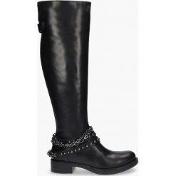 Kozaki czarne Jenny. Fioletowe buty zimowe damskie marki Badura. Za 639,99 zł.