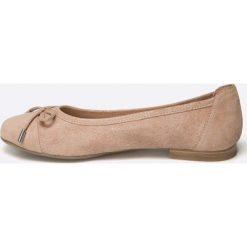 Caprice - Baleriny. Różowe baleriny damskie zamszowe Caprice. W wyprzedaży za 159,90 zł.