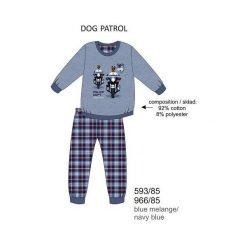 Bielizna chłopięca: Piżama chłopięca DR 593/85 Dog patrol Melanż jeansowa r. 116