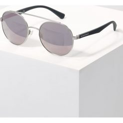 Okulary przeciwsłoneczne damskie: Emporio Armani Okulary przeciwsłoneczne silver/dark grey mirror pink