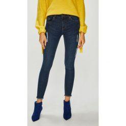 Medicine - Jeansy Basic. Niebieskie jeansy damskie rurki marki MEDICINE, z bawełny. W wyprzedaży za 79,90 zł.
