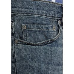 Abercrombie & Fitch Jeansy Slim Fit medium wash. Niebieskie jeansy męskie Abercrombie & Fitch. Za 369,00 zł.
