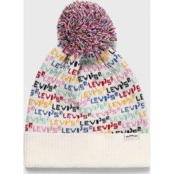 Levi's - Czapka. Szare czapki zimowe damskie Levi's®, na zimę. Za 129,90 zł.