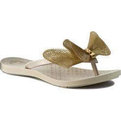 Chodaki damskie: Japonki ZAXY - Fresh Butterfly Fem 81823 Beige/Gold 90243